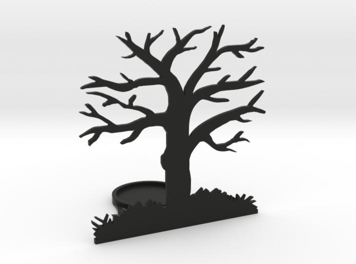 Tea light - tree 3d printed