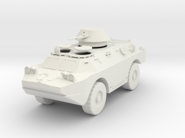 MV01B BRDM 2 Scout Car - hatches open (28mm) 3d printed