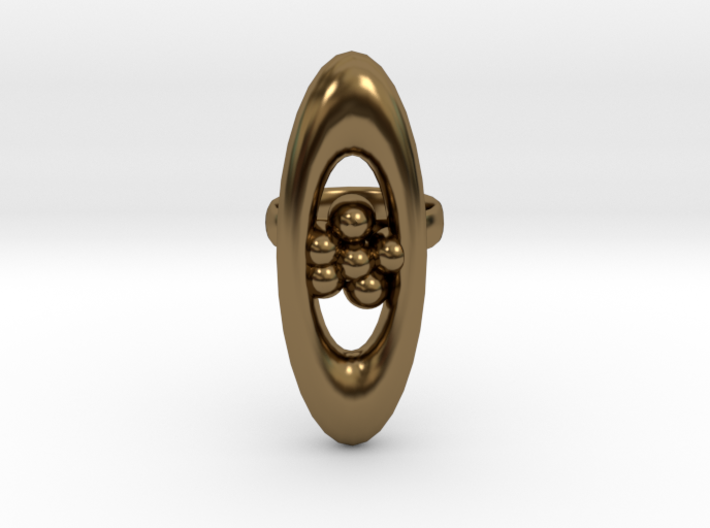 Ring Based On One I Made On Website Called Jweel 3d printed
