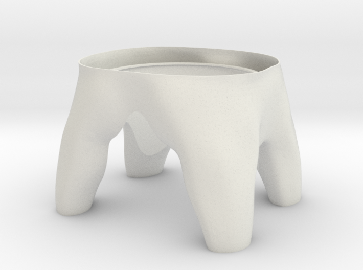 Tooth R3 Bottom 3d printed