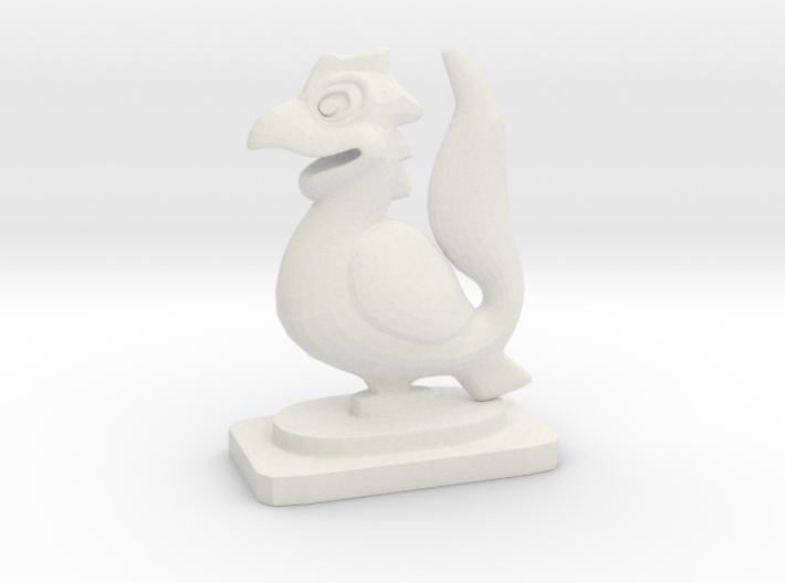 Indian Mini Desktop Statue (Yali) 3d printed