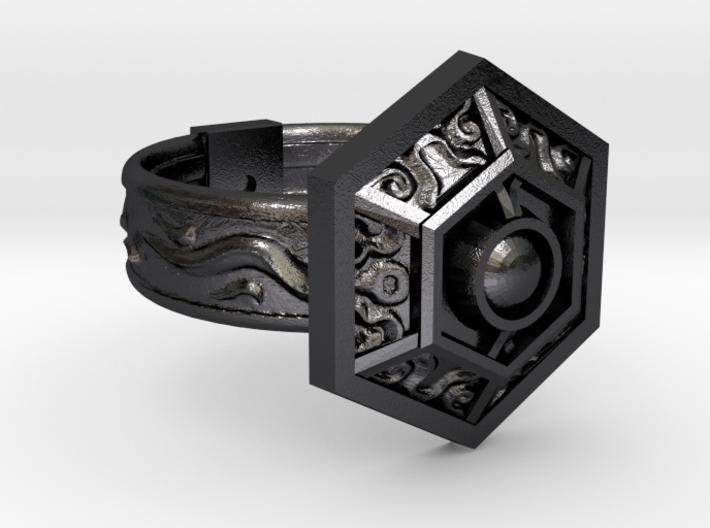 Royal Ring of Grandeur 3d printed