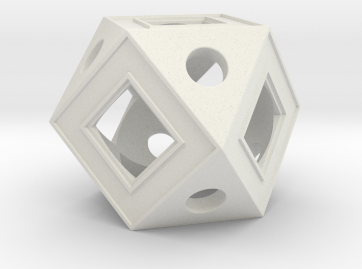 Holocron Core Window 3d printed
