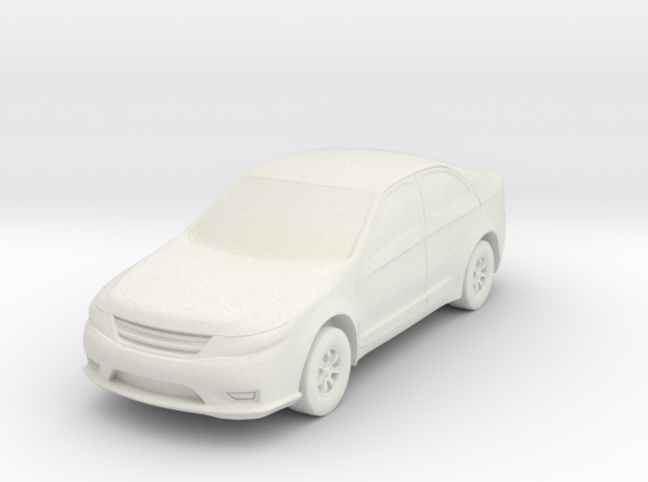 Car At N Scale 3d printed