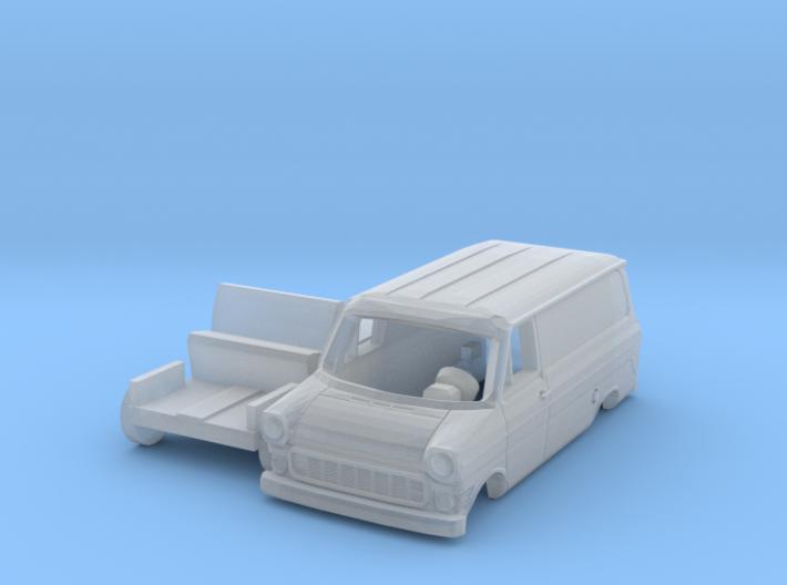 Ford Transit Kastenwagen (TT 1:120) 3d printed