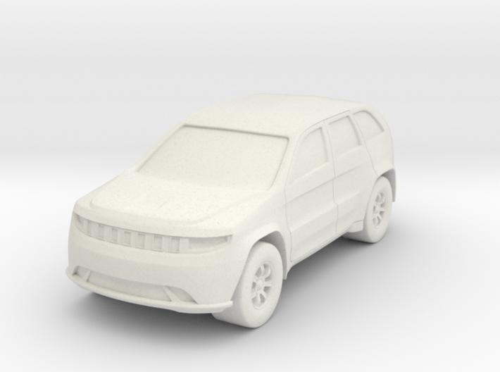 SUV At N Scale 3d printed