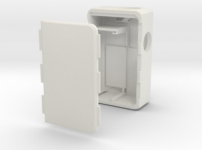 MARK IX -Meccanica- 18500 battery 3d printed