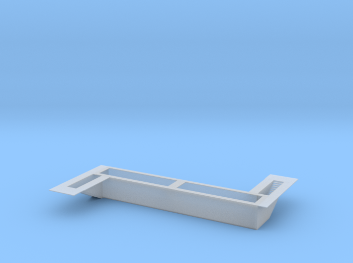 Railroad Inspection Pit Z Scale 3d printed Engine Inspection Pit Z scale
