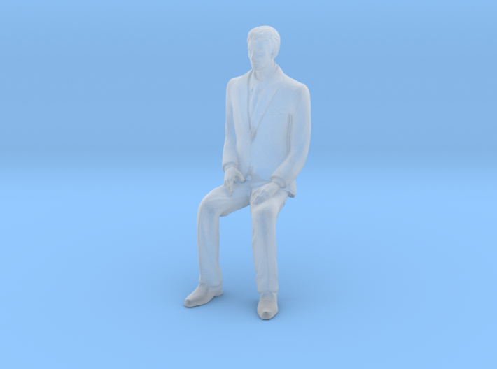 Man Sitting 16th 3d printed