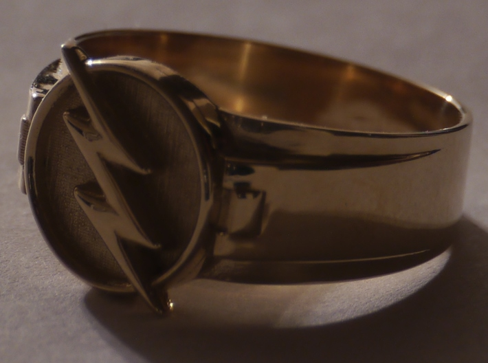 Reverse Flash Ring Size 15 23.80 MM 3d printed