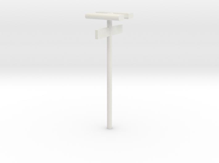 DSB Stations (dobbelt) lampe med kontrolafgiftsski 3d printed