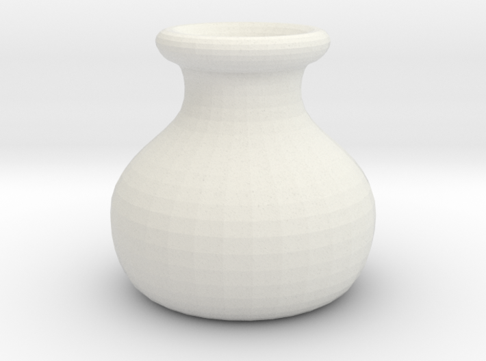 Simple Pot Small version (2 cm) 3d printed