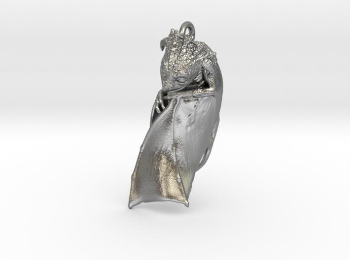 Baby Dragon Pendant 3d printed