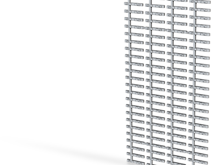 4xJoch Flex Spur Ne 1:160 4,5mm Spurweite 4 x 3d printed