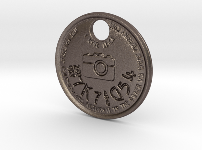 ZWOOKY Style 113 Sample - keychain I love Leica 3d printed