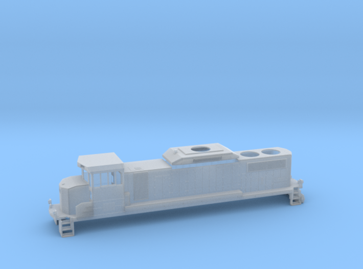 GP20D HO Scale 3d printed
