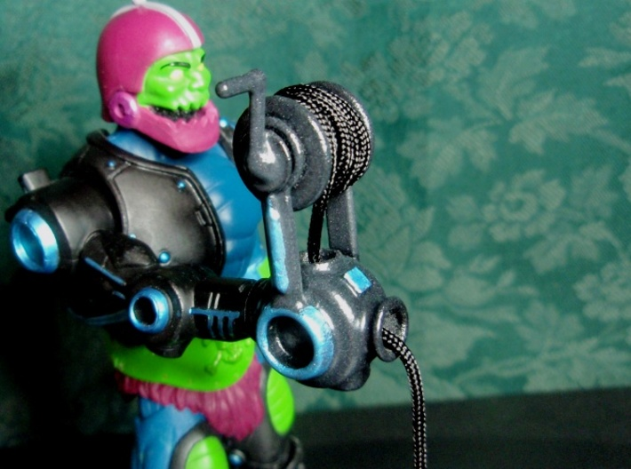 Trap Jaw's Dropper 3d printed Painted and added a string