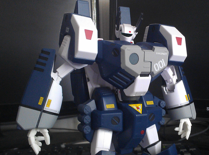 VF-1 Valkyrie Hands - B-Set 3d printed