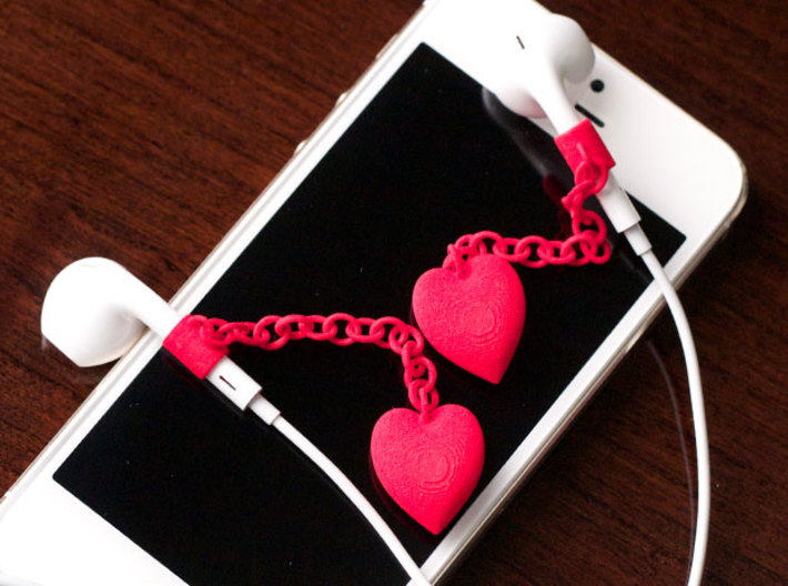 Earpod Earrings | Hearts ♡  3d printed