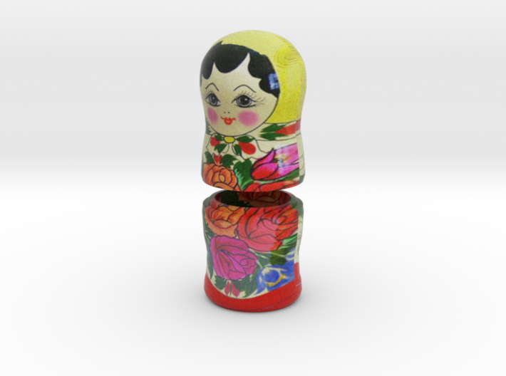 Russian Matryoshka - Piece 5 / 7 3d printed