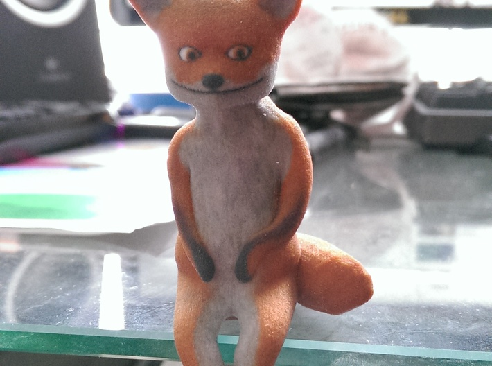 Taxidermy Fox 3d printed