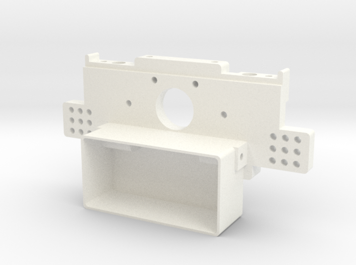 RC10 Rear Bulkhead V1 3d printed