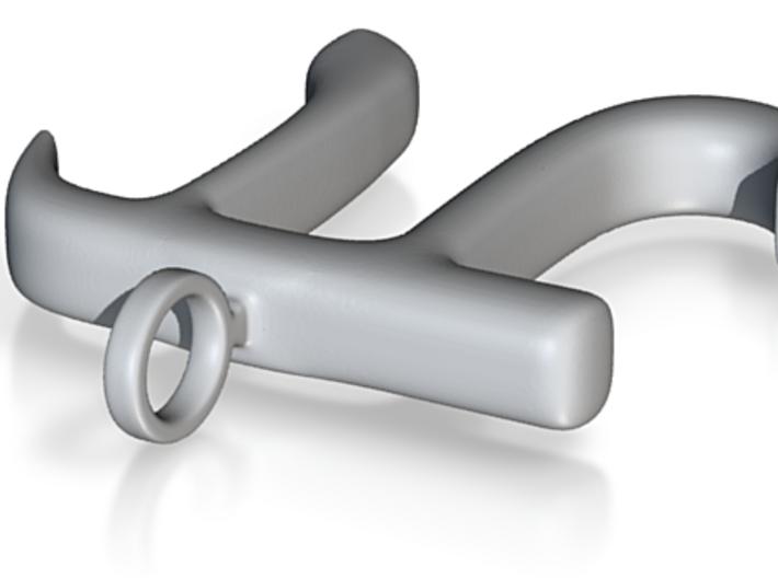 Science Keychain Pendant: Big Pi - 5cm 3d printed