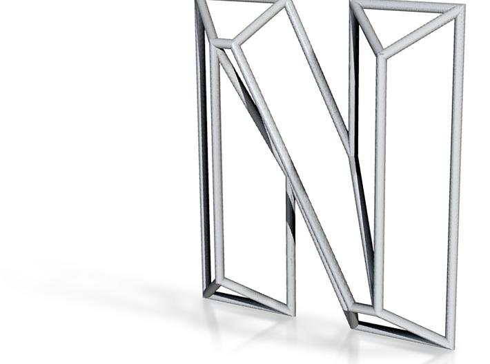 N Typolygon 3d printed