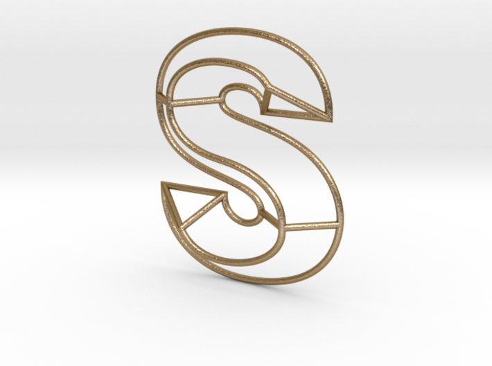 S Typolygon 3d printed