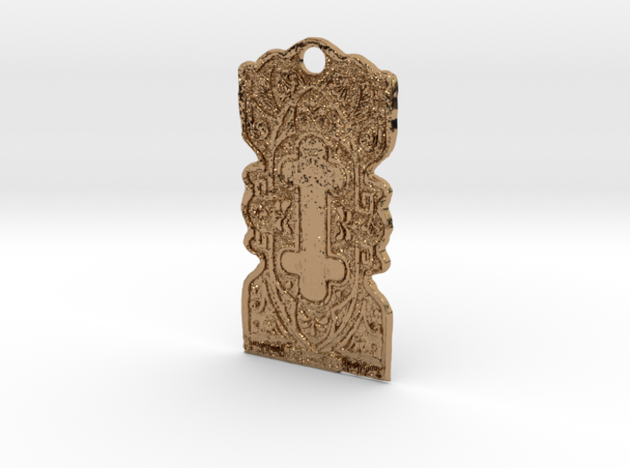 Brass Clasp 3d printed
