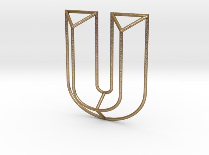 U Typolygon 3d printed