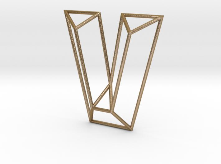 V Typolygon 3d printed