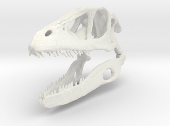 Dino Skull - Raptor Replica 3d printed