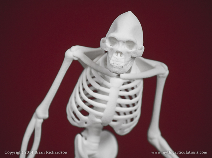 Sasquatch Skeleton 3d printed
