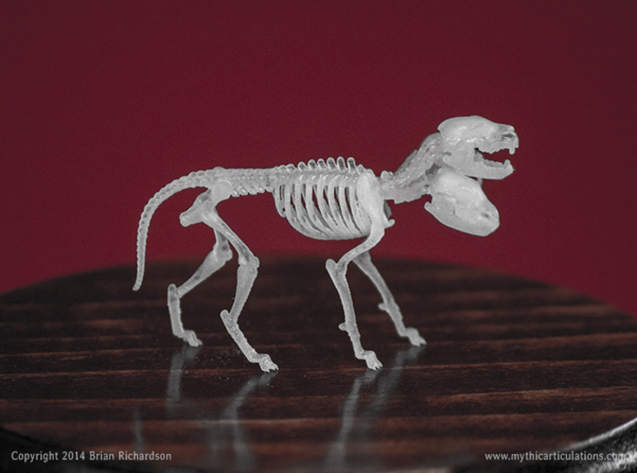 Cerberus Skeletons 32mm 3d printed