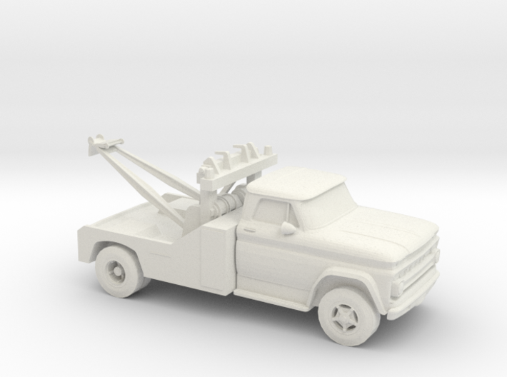 1/87 1966 Chevrolet C 50 Wrecker 3d printed