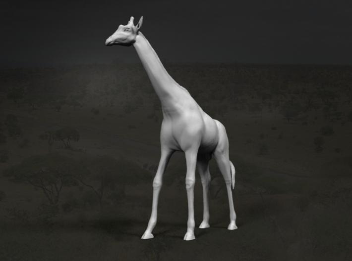 Giraffe 1:12 Standing Male 3d printed
