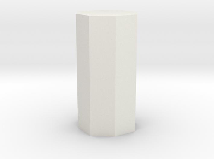 Ditetragonal prism 3d printed