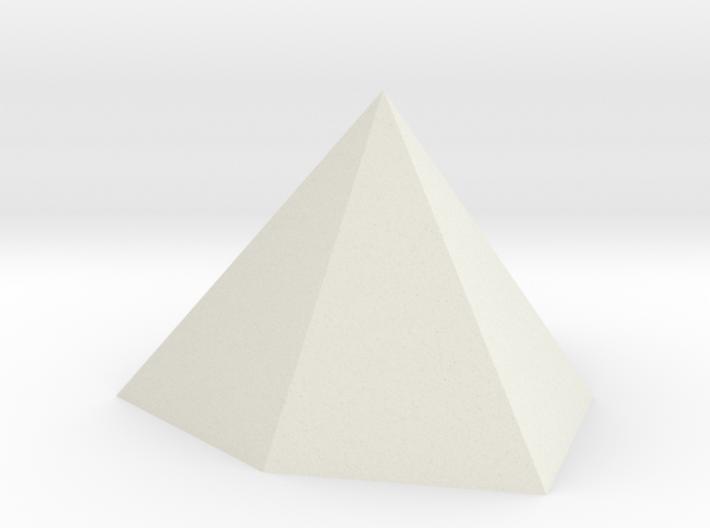 Ditrigonal pyramid 3d printed