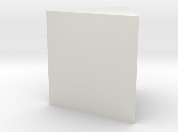Trigonal prism 3d printed