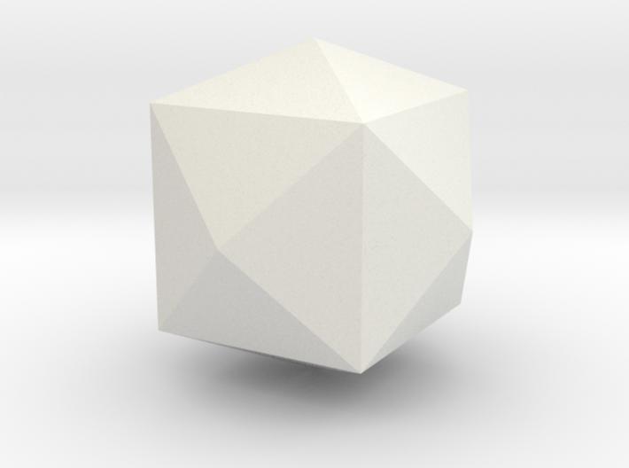 Tetrakis-hexahedron 3d printed