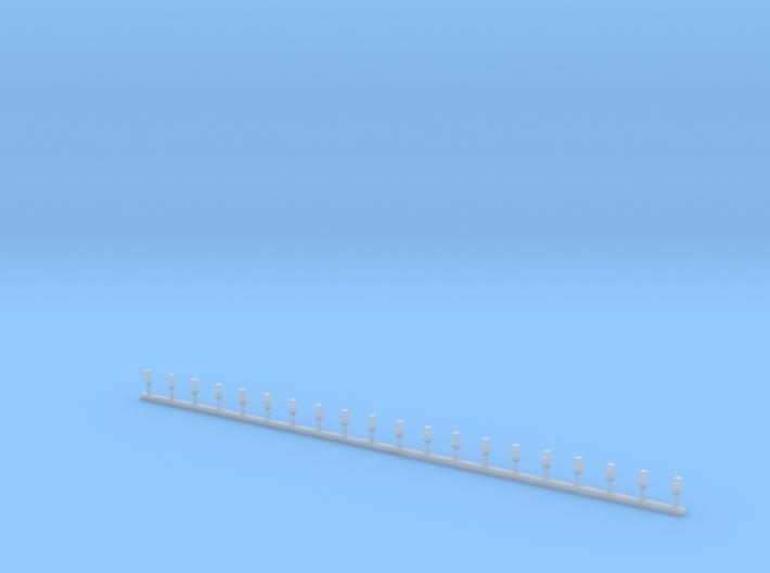 Stabblaulichter MODERN Ahnlich Roco Größe 3d printed