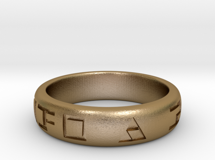 Hylian Hero's Band - 6mm Band - Size 11 3d printed