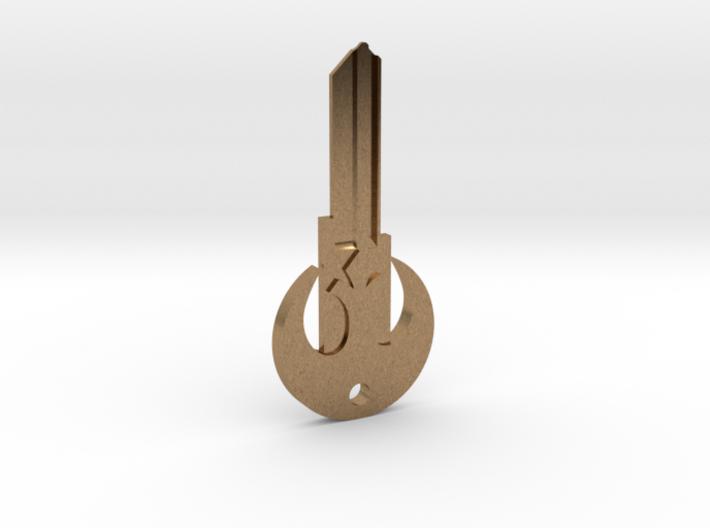 Rebel House Key Blank - KW11/97 3d printed
