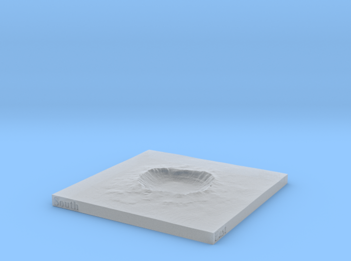 Arizona Meteor Crater 4 inch or 100mm 3d printed