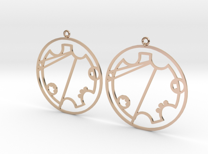 Trystal - Earrings - Series 1 3d printed