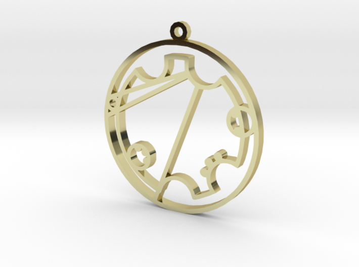 Trystal - Necklace 3d printed