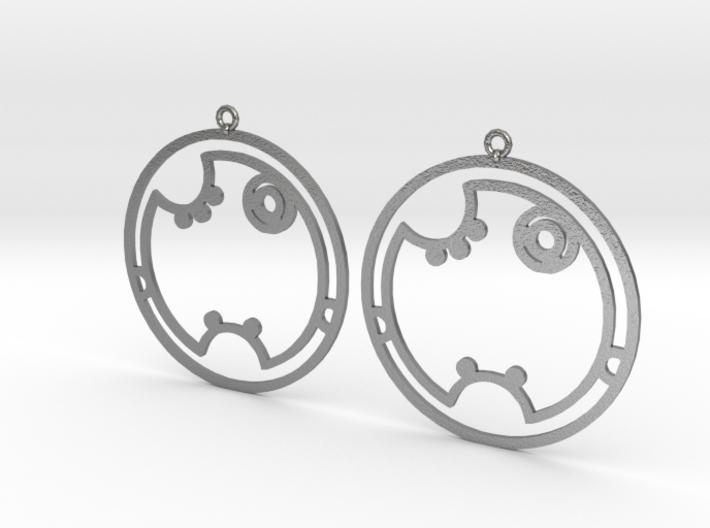 Shakera - Earrings - Series 1 3d printed