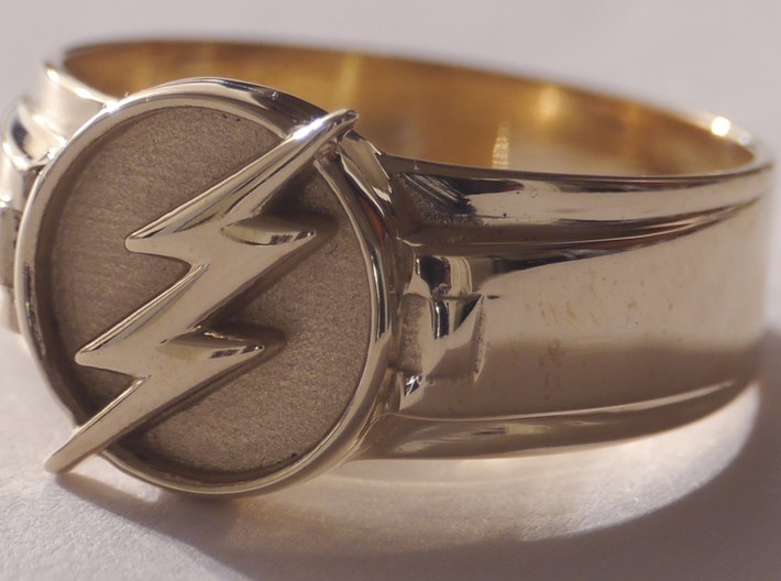 Flash Ring Size 9 19mm  3d printed