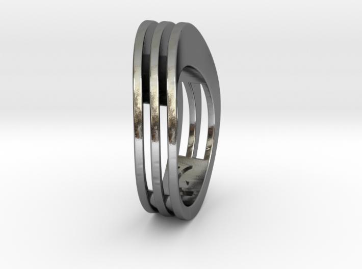 ELLIPSE ring 3d printed